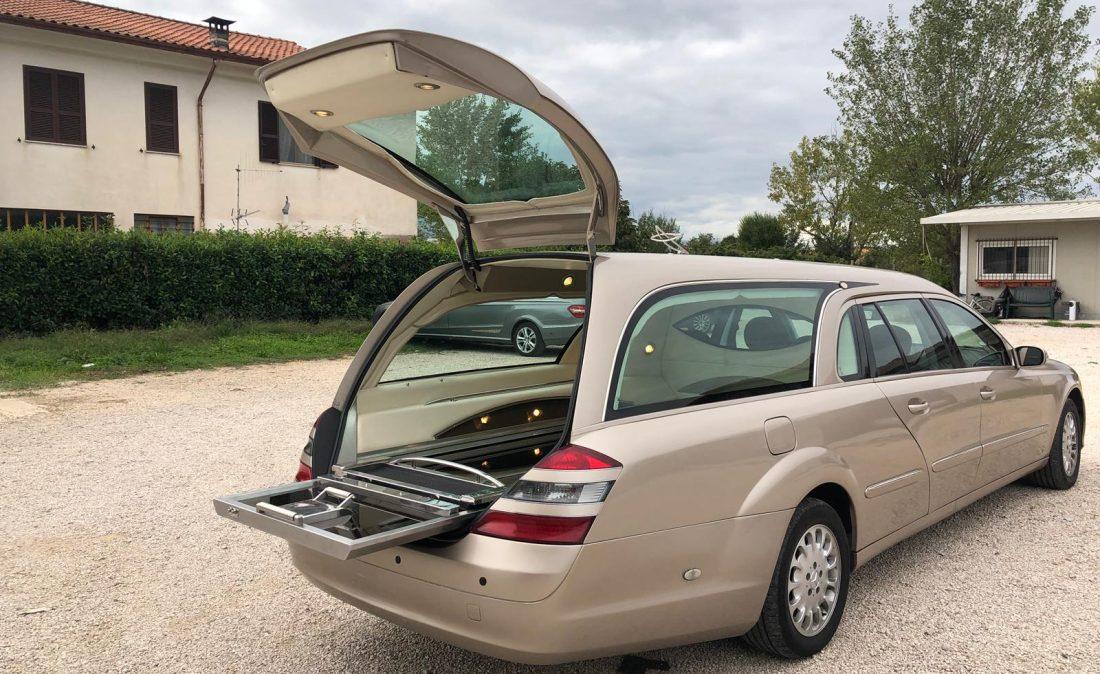 Autofunebre Mercedes classe E W 211 Roberto Cantinelli _4